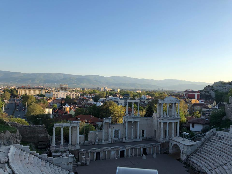 Plovdiv- the Anctient Roman theater