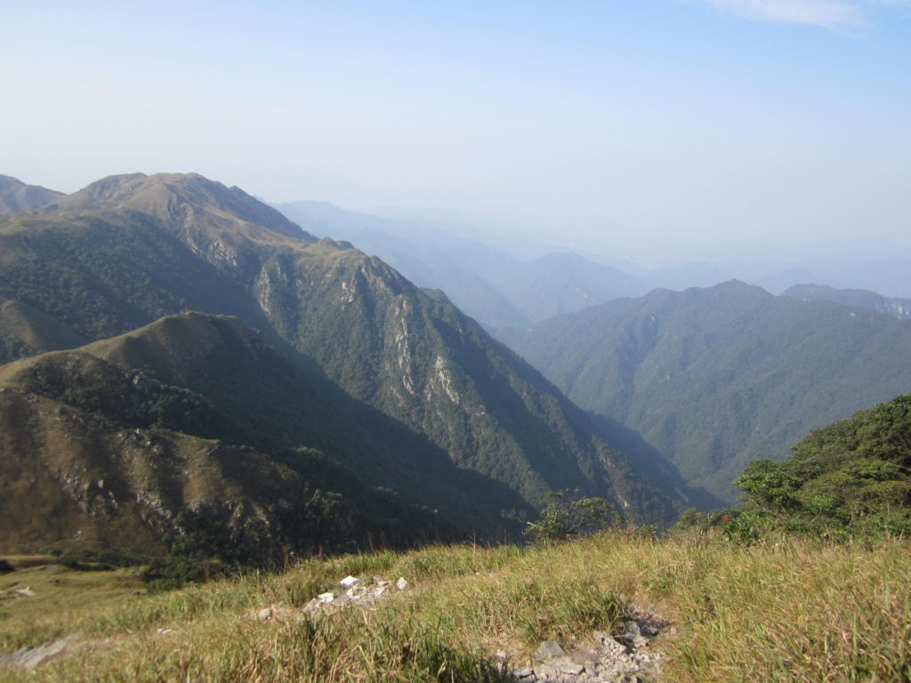 View from Gaozhang peak, Chuandiding mountain, North Guangdong