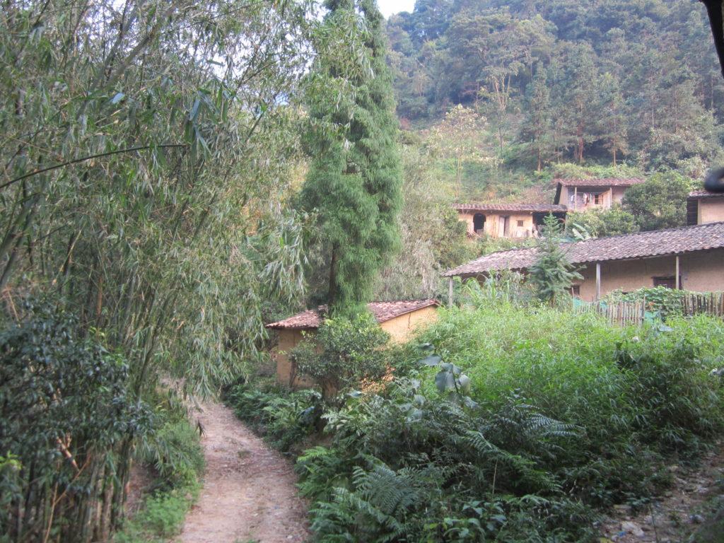 Pingkeng village, Chuandiding mountain, North Guangdong