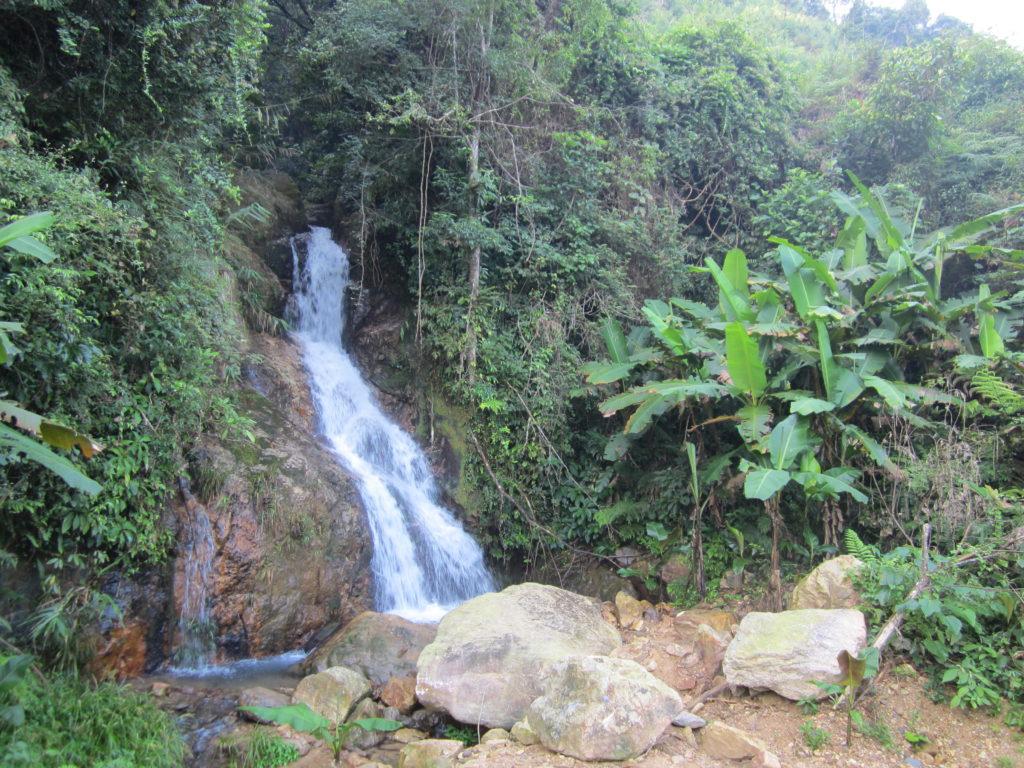 Waterfall in Chuandiding mountain, North Guangdong