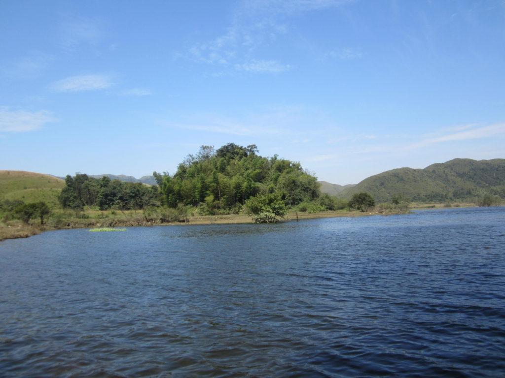 Xiadong meadows dam, Chuandiding mountain, North Guangdong