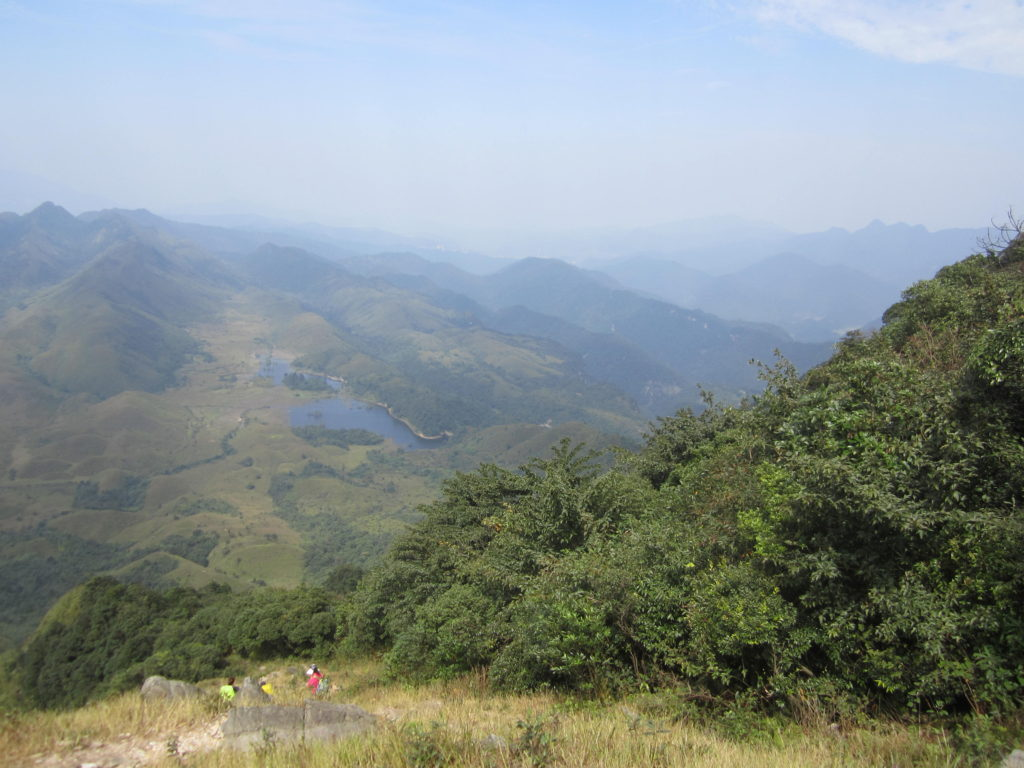 On the slope to Gaozhang peak, Chuandiding mountain, North Guangdong
