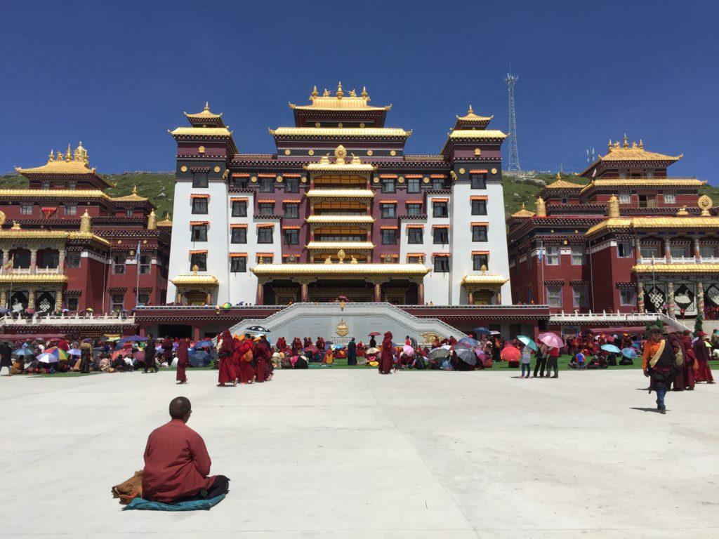 Tibetan Buddhism presented in Dzogchen monastery