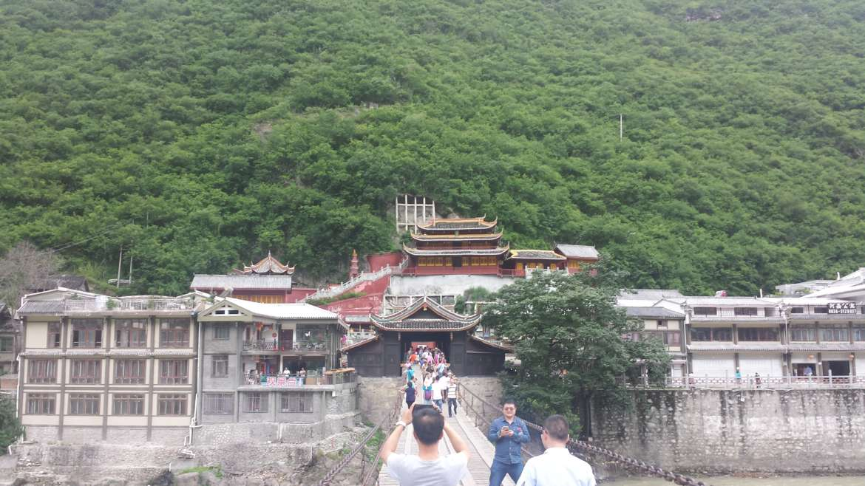 China, Sichuan, Luding bridge