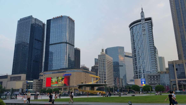 China, Sichuan, Chengdu, Tianfu Square