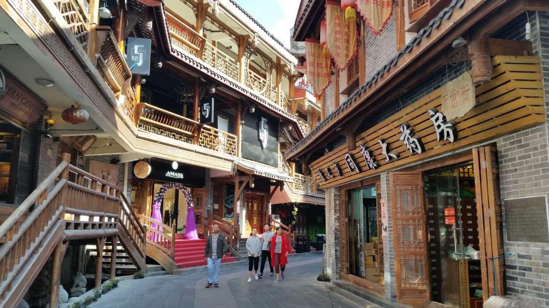 China, Tibet, Kangding, the Old quarter