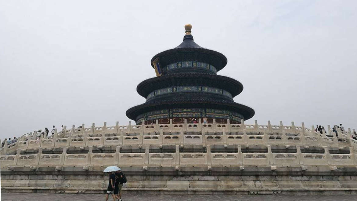 Beijing (北京), the Temple of Heaven (天坛), China