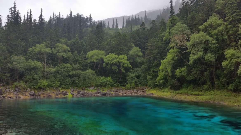 Eastern Tibet, Sichuan, Jiuzhaigou, Five colors pond