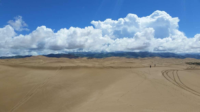 Eastern Tibet route, Golden sand desert, northeast of Qinghai lake