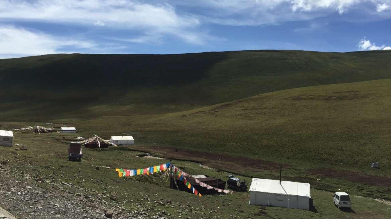 Eastern Tibet route, Qinghai Bayan Har, nomadic life