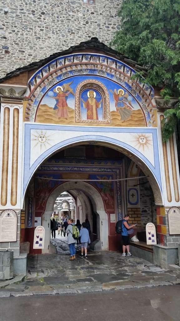 The Entrance of Rila monastery, Bulgaria