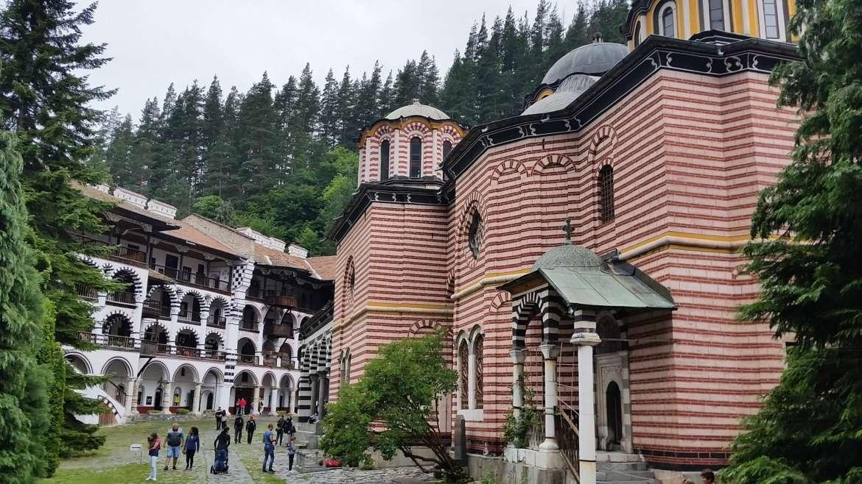 Rila monastery, Bulgaria, the Main church