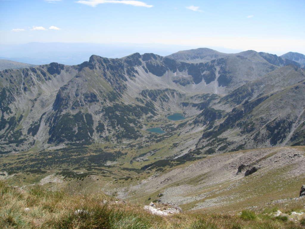 A view to the higher areas of Rila mountain, Bulgaria