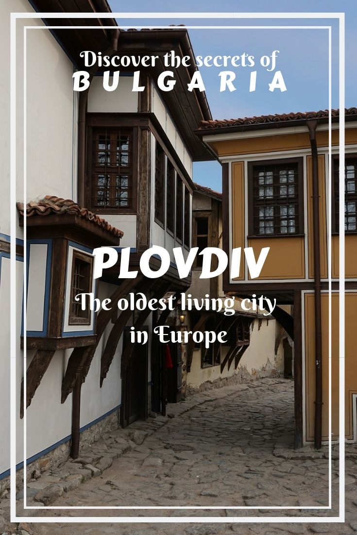 Plovdiv, Bulgaria, in the oldest constantly living city in Europe and the 6th in the world. Make your trip to this unique place and enjoy your experience there!
