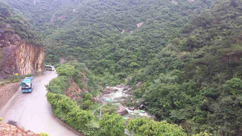 Huangteng Canyon near Qingyuan