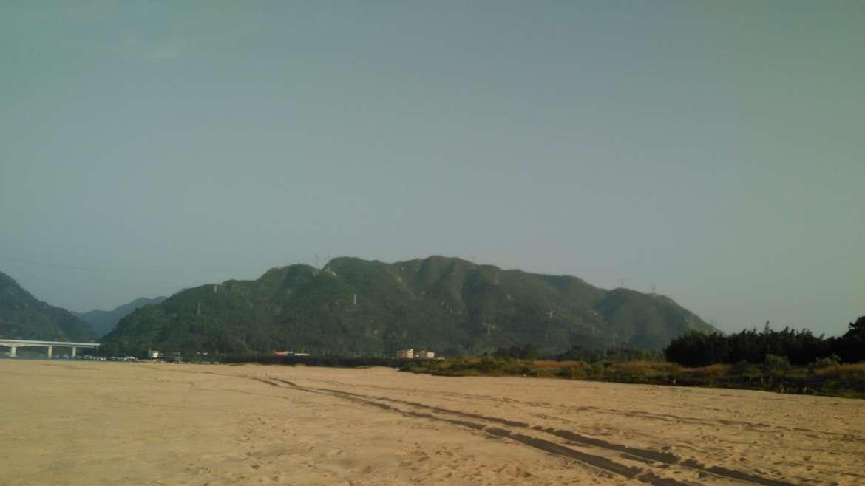 The beach of Lunzhou Island, Qingyuan