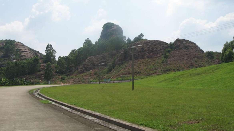 Horse head hills near Qingyuan, Guangdong