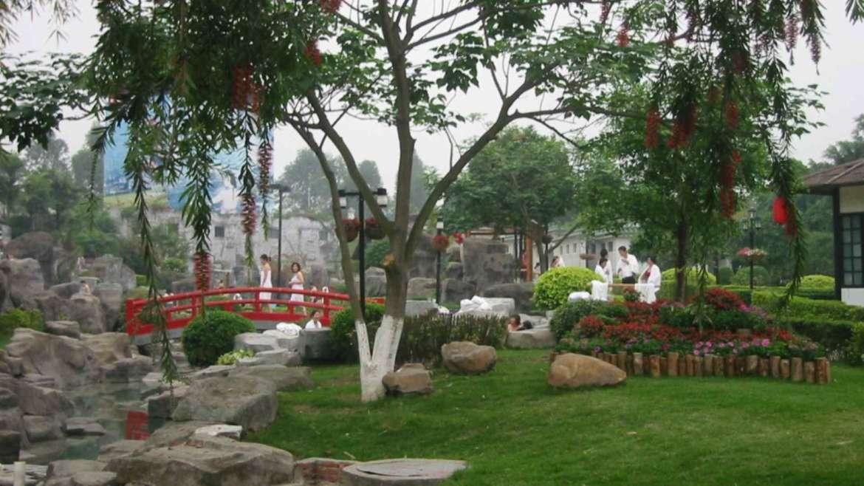 Sankeng hot springs near Qingyuan, Guangdong