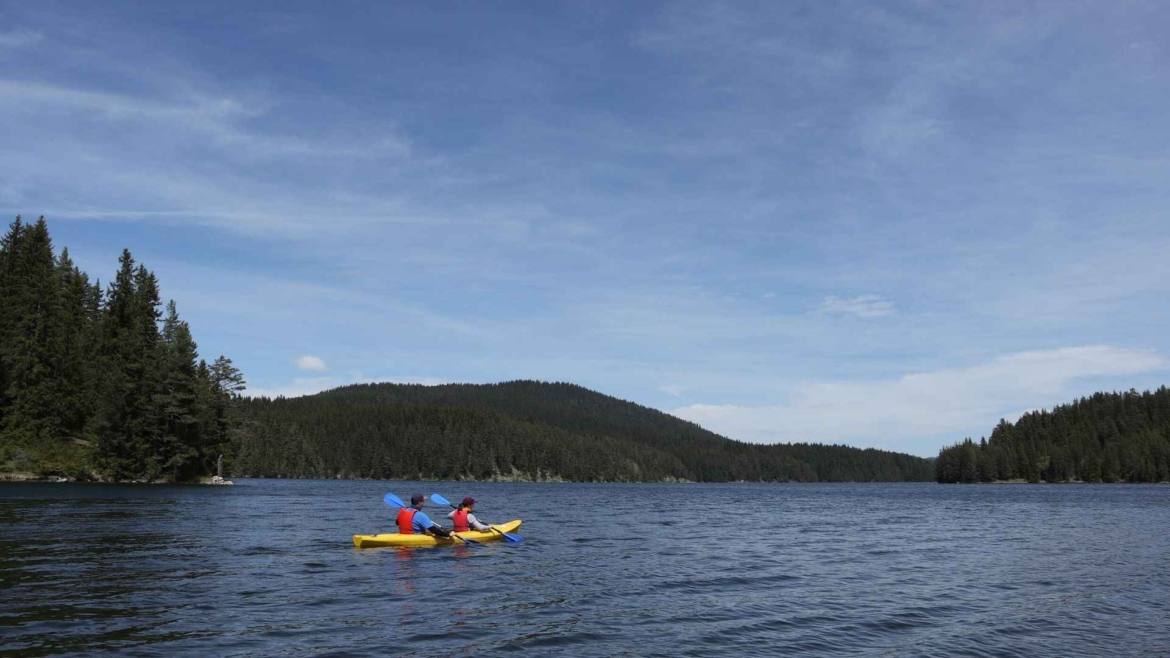Kayaking in Golyam Beglik