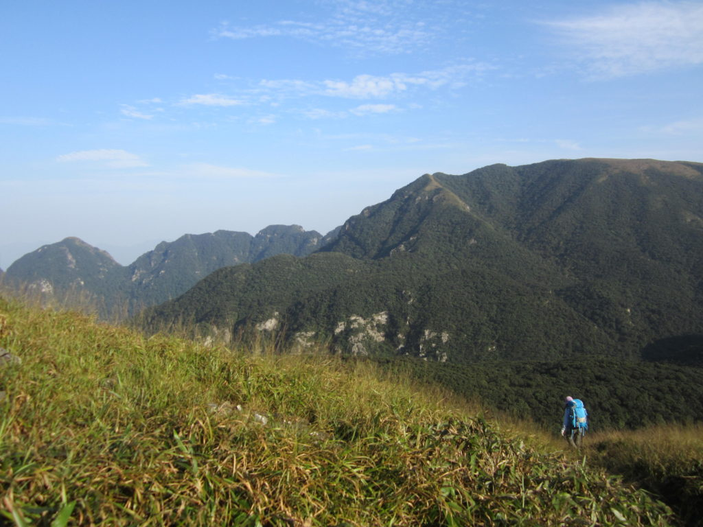 On the road to Chuandiding peak, Chuandiding mountain, North Guangdong