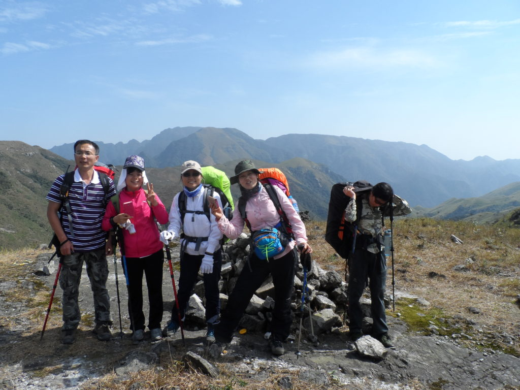 On the way to Luori peak, Chuandiding mountain, North Guangdong