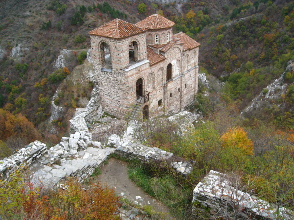 Asenovgrad, Asenova fortress, south of Plovdiv, Rodopi (Rhodope) mountain