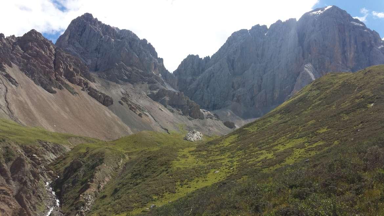 China, Tibet, Zhuoda mountain, south of Garze