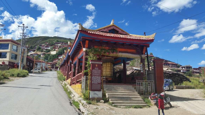 China, Tibet, Drango/Luhuo, Shouling monastery