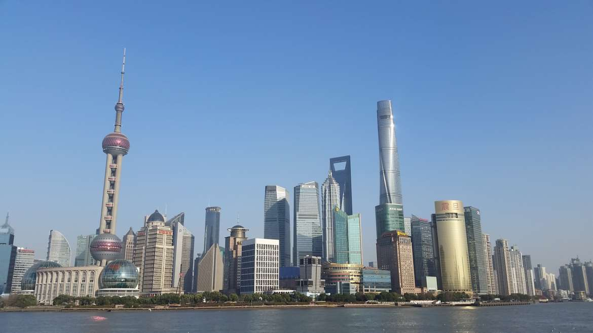 China, Shanghai (上海), Lujiazui (陆家嘴), view from The Bund