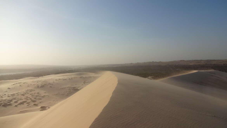 Vietnam, Mui Ne, White dunes