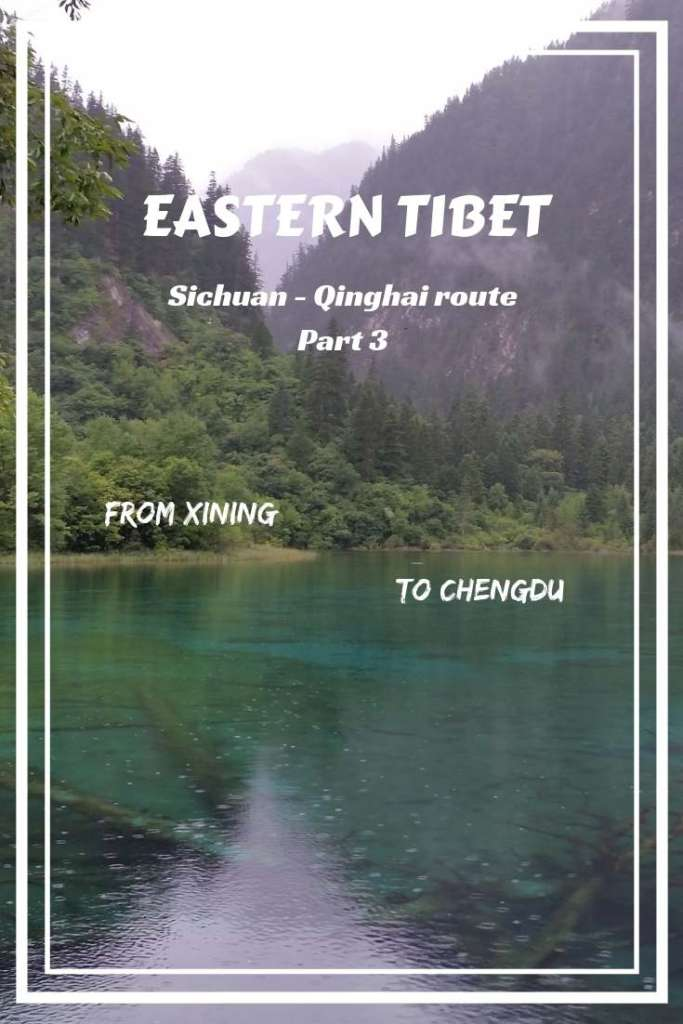 Eastern Tibet is an incredibly beautiful mountain land, part of the Great Tibetan plateau. See the 3rd part of its main route!