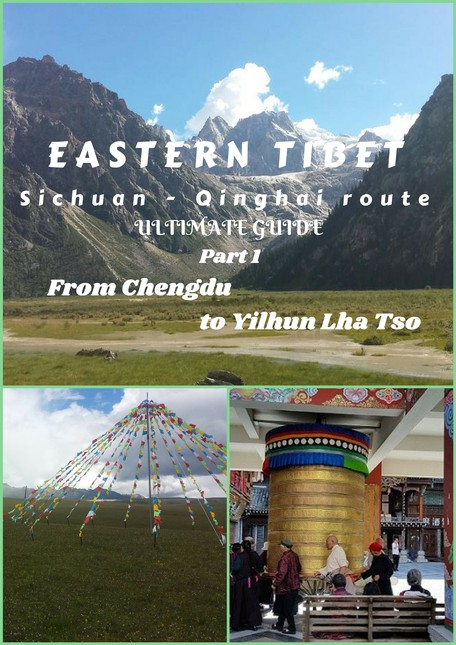 Eastern Tibet is an incredibly beautiful mountain land, part of the Great Tibetan plateau. See the 1st part of its main route!