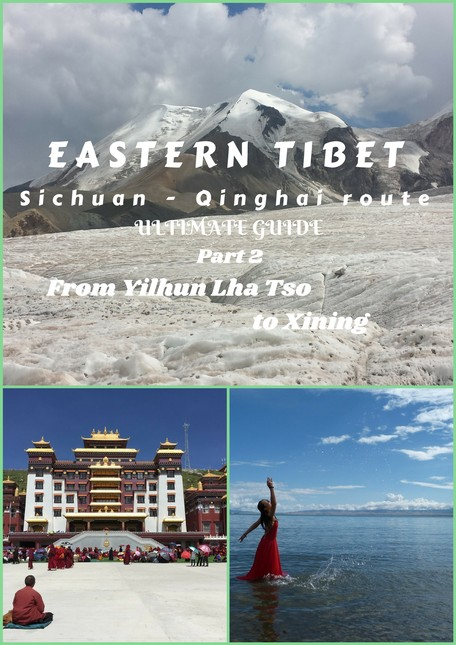 Eastern Tibet is an incredibly beautiful mountain land, part of the Great Tibetan plateau. See the 2nd part of its main route!