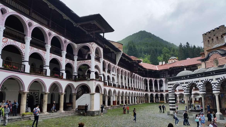 Rila monastery, Bulgaria, Residential part