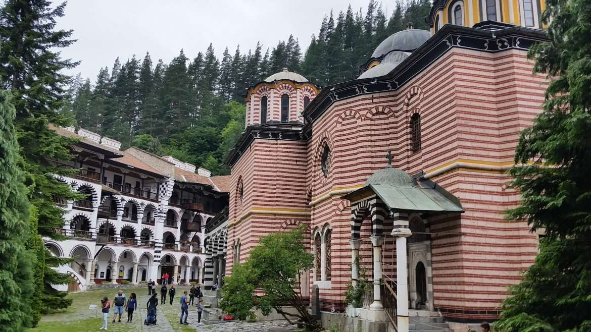 Rila monastery, Bulgaria, the Main church