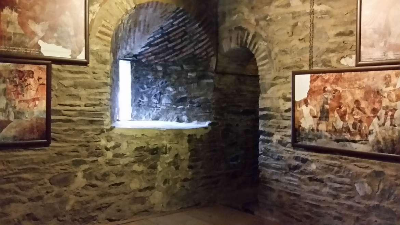 Rila monastery, Bulgaria, Hrelyova tower interior