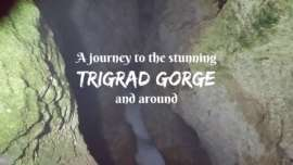 Trigrad gorge is a narrow canyon, hidden deep in the Rhodope Mountain, Bulgaria, with a mysterious cave and underground river. The area around it features wild coniferous forests, pastures, and unique local culture.