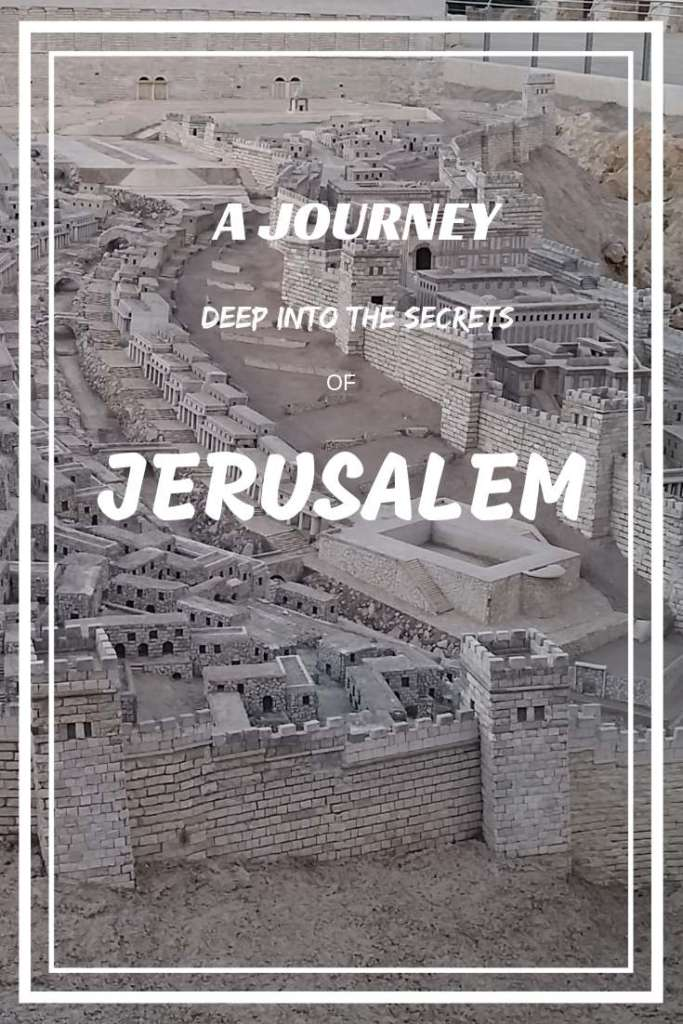 Jerusalem, the capital of Israel- the most unique city in the world, where the history is alive right now!