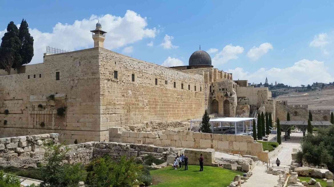 Visit Jerusalem, see the Southern Wall of Temple Mount