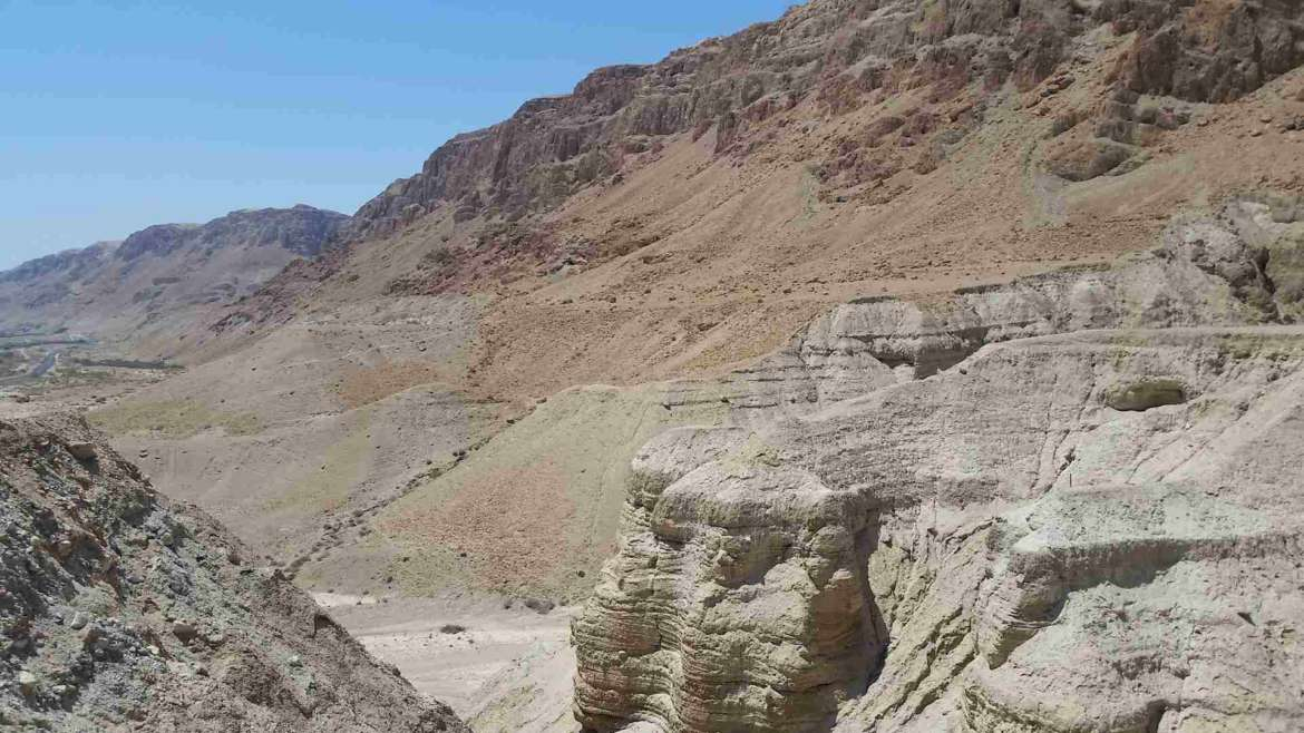 Israel itinerary- The wilderness of Qumran