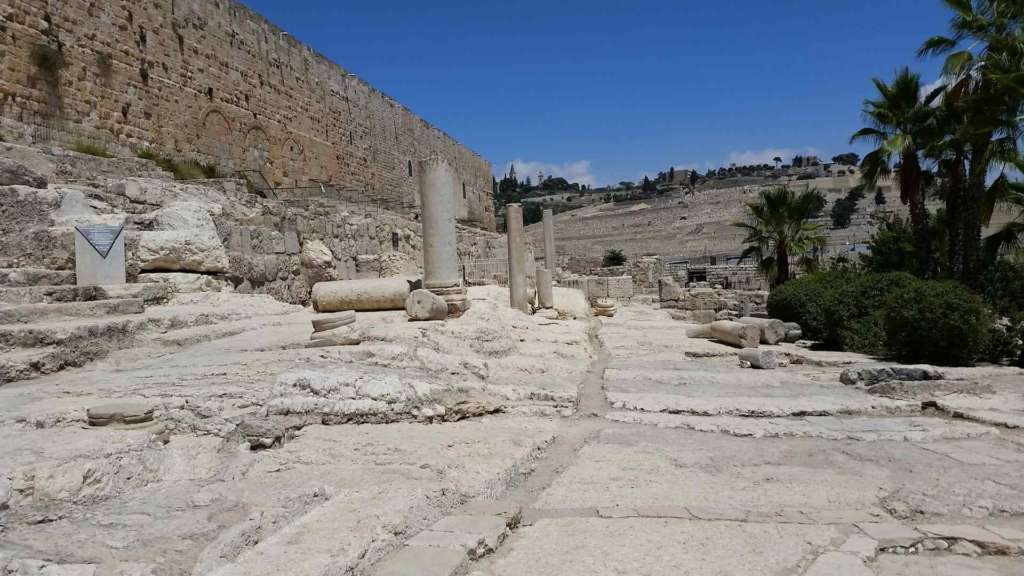 Visit Jerusalem, see the ruins of the archaeological complex Davidson center