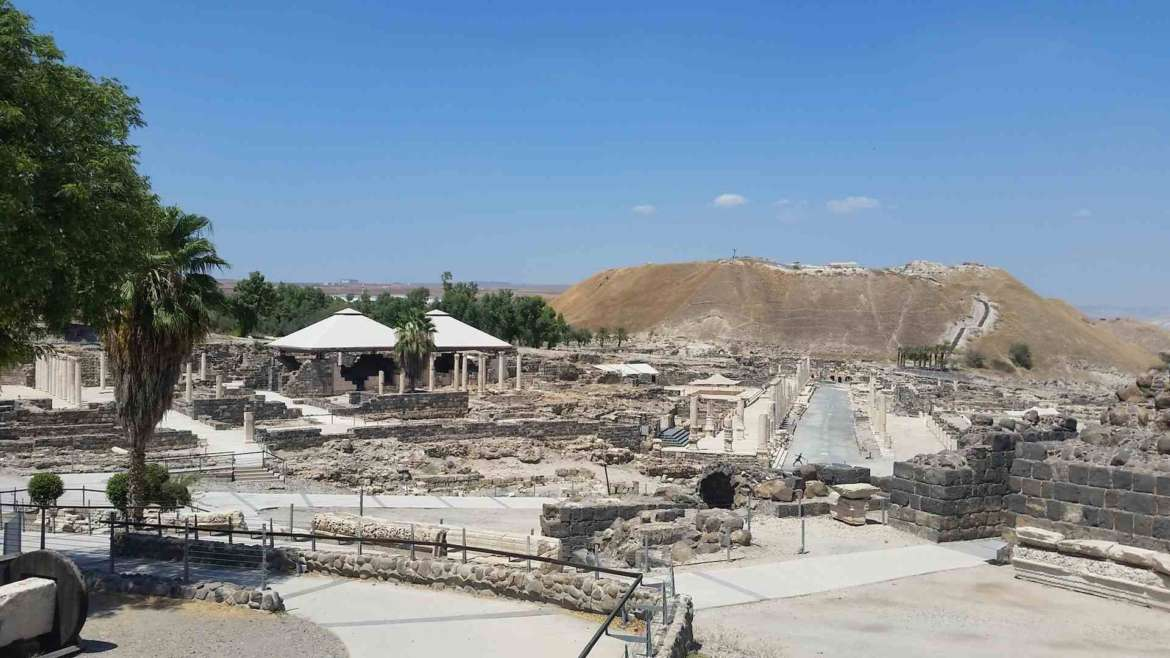 Israel itinerary- Beit Shean