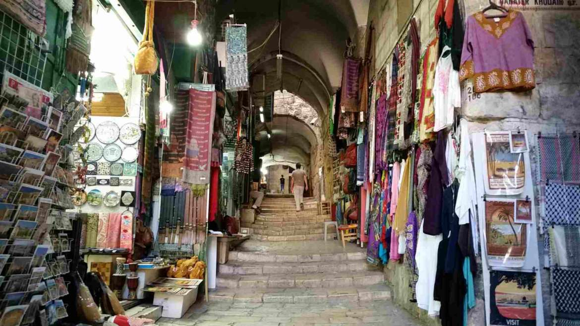 Visit Jerusalem, walk on the streets of the Old City