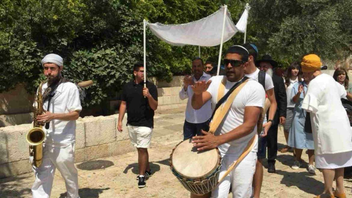 Israel itinerary- Jerusalem- maturity celebration near the Western Wall