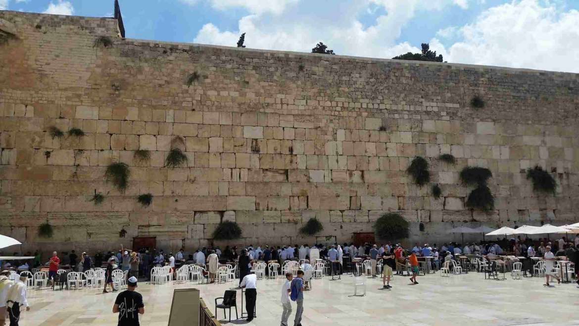 Israel itinerary, Jerusalem- the Western (Wailing) Wall