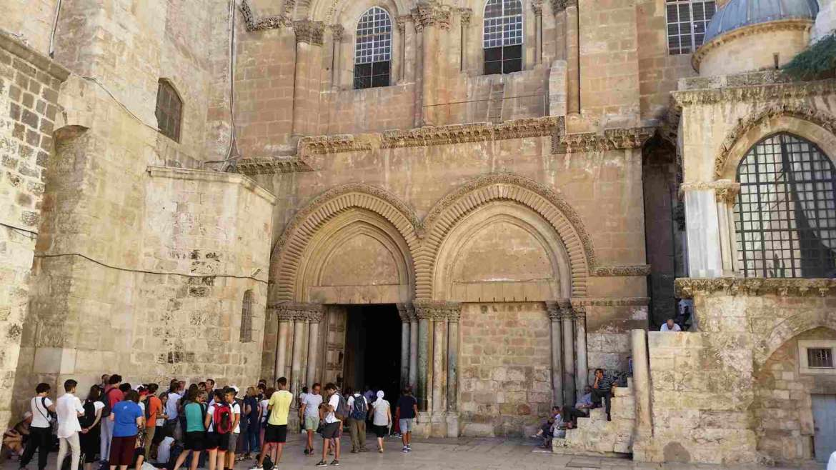 Visit Jerusalem, and the Church of Holy Sepulchre