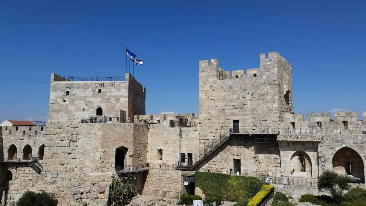 Israel itinerary- Jerusalem, the Tower of David