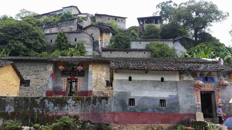 "Yingxi Limestone Hills- Peng Jia Ci- the ""Little Lhasa"""