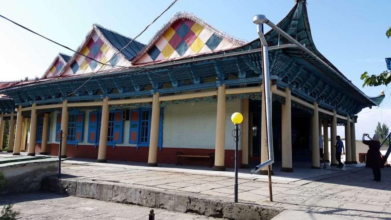 A trip to Kyrgyzstan- Karakol- Dungan mosque
