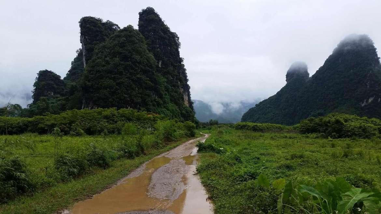 Yingxi Limestone hills- Guanyin valley area